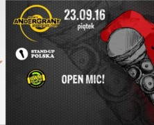 23.09 Stand-up Warmia Andegrant, Antoni Syrek-Dąbrowski // OPEN MIC
